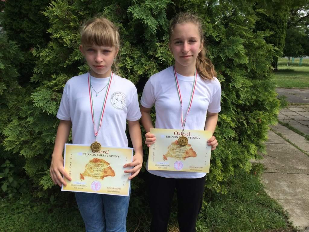 Két arany Szegeden