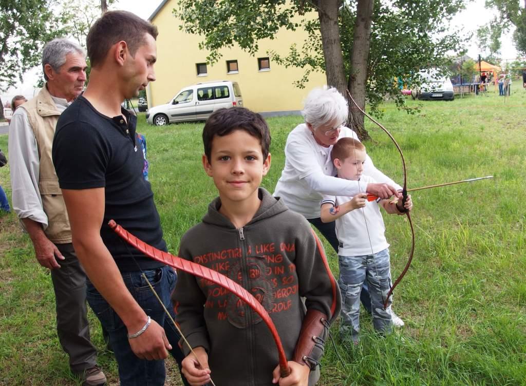 Íjazás, mini-kalandpark és lovaglás a Gazdakör gyermeknapján