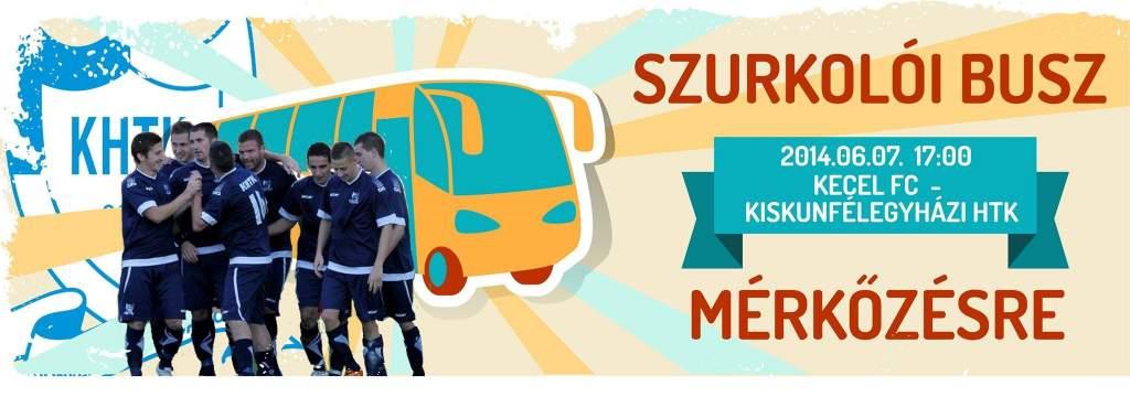 Szurkolói buszt indít a Kiskunfélegyházi HTK