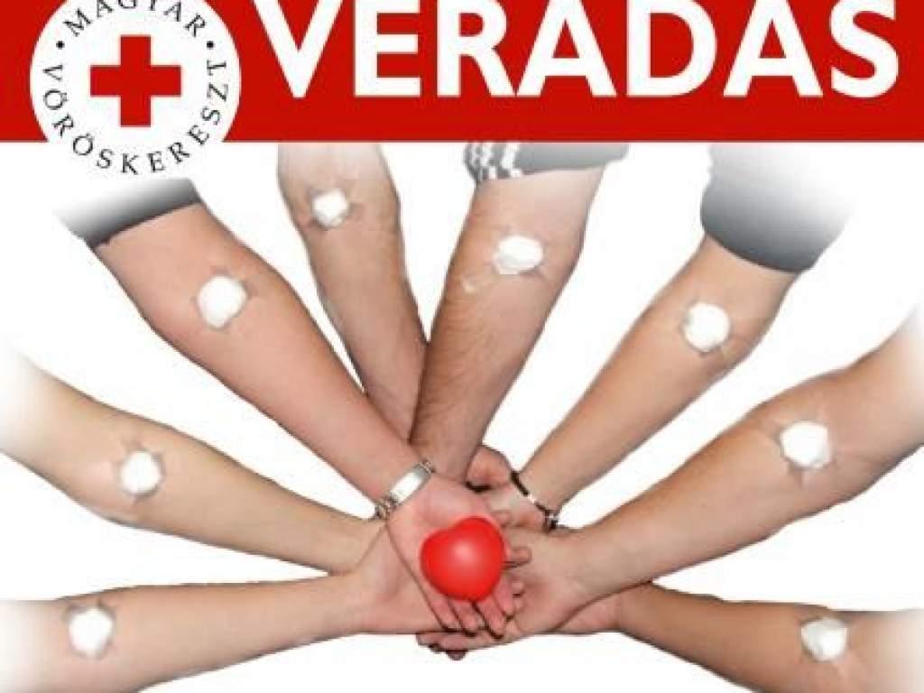 Ismét véradásokat szervez a Vöröskereszt