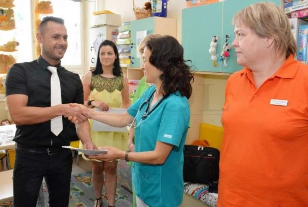 Félmilliós műszert kapott adományként a megyei kórház