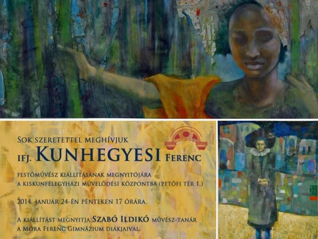 Kiállítás iIfj. Kunhegyesi Ferenc alkotásaiból