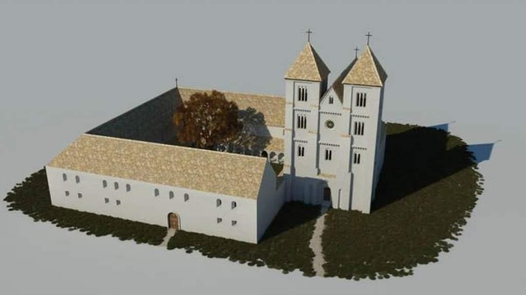 Felépítenék az Árpád-kori Aranymonostort