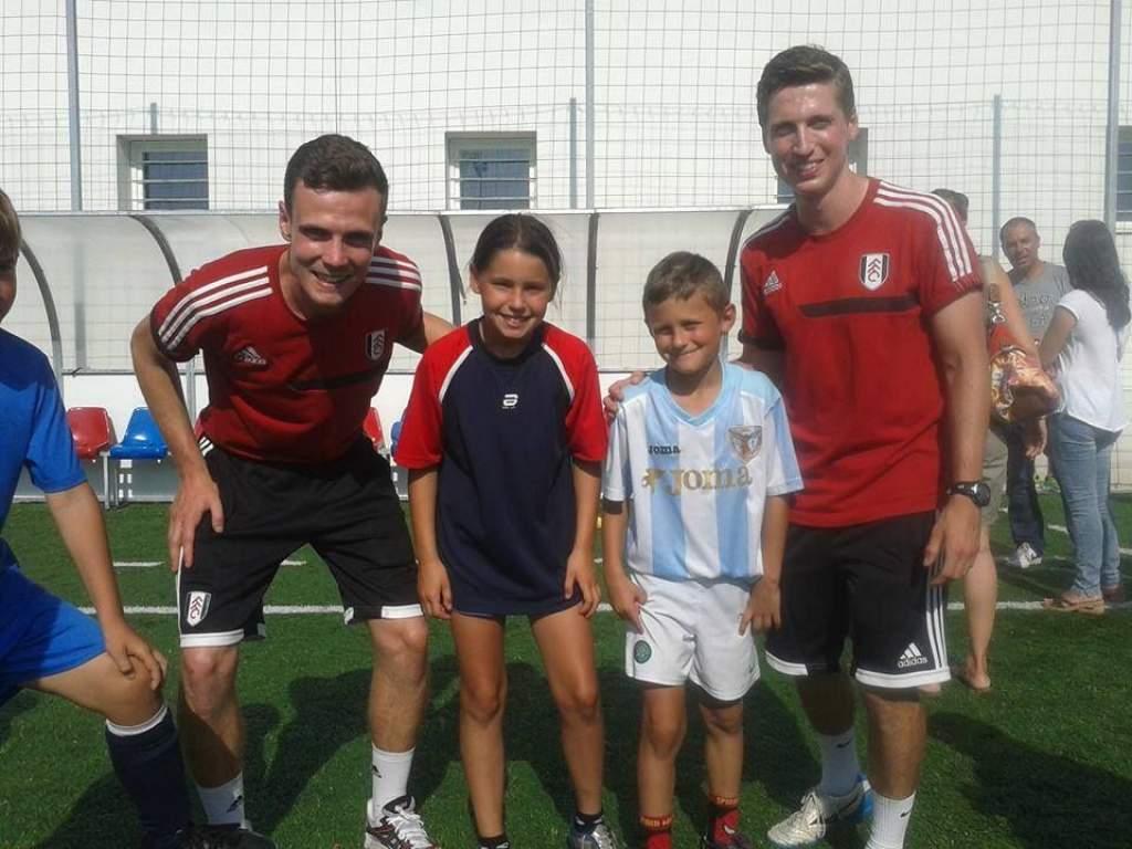 A Fulham FC utánpótlás edzői oktatták a félegyházi focistákat