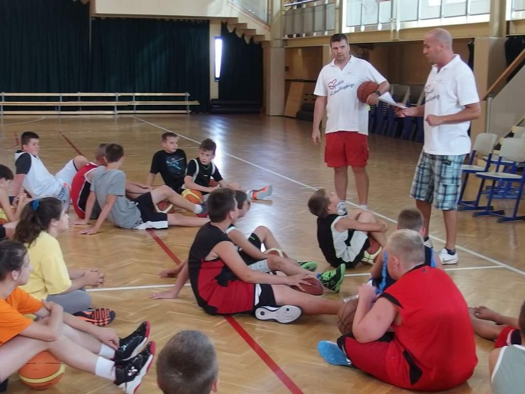 50 gyerekkel indult el a kosárlabda tábor