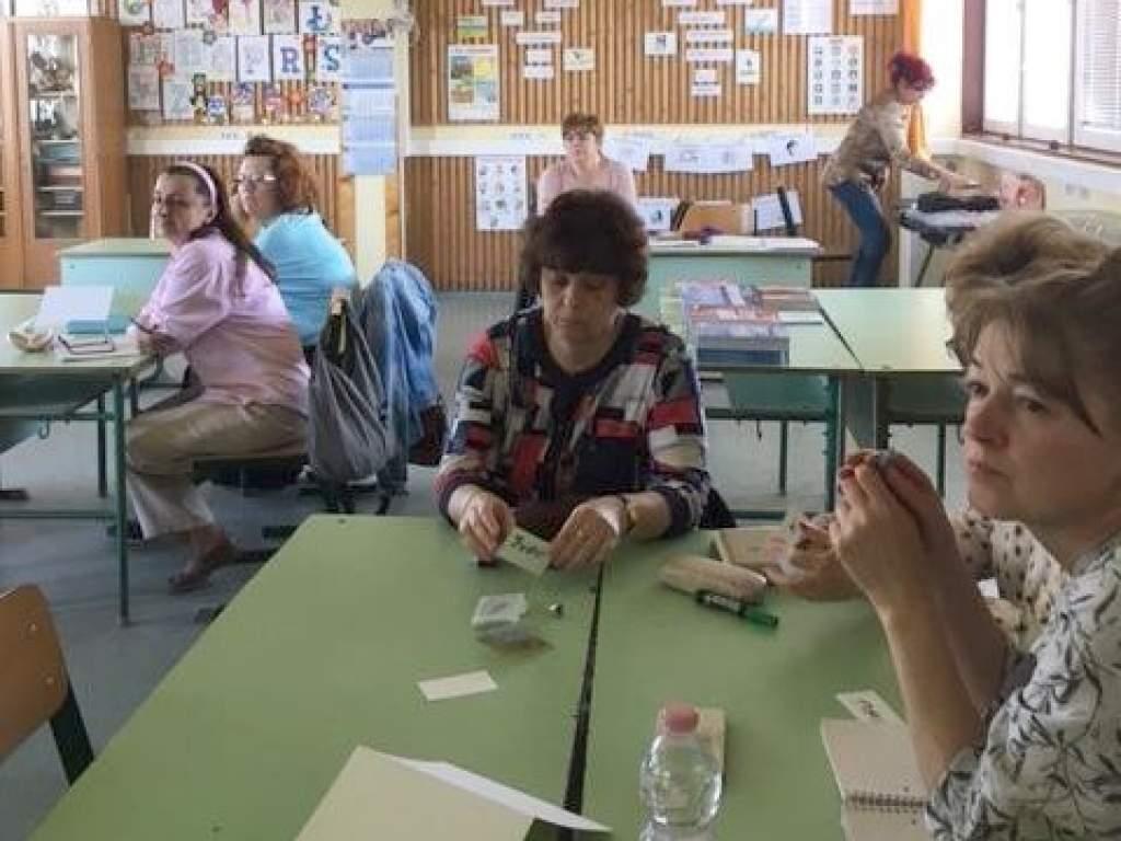 A szövegalkotás módszertanával ismerkedtek a pedagógusok
