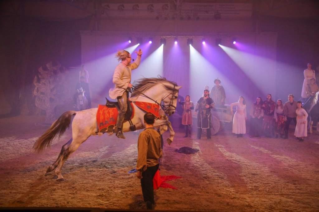 Nemzeti Lovas Színház-estek Bugacpusztán