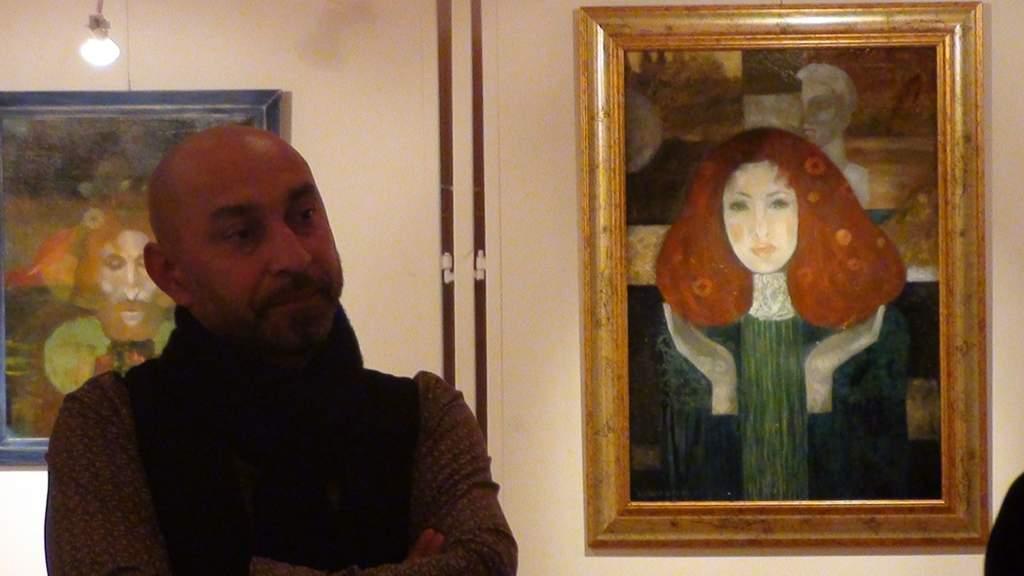 Kiállításnéző – Ifj. Kunhegyesi Ferenc alkotásai a művelődési házban