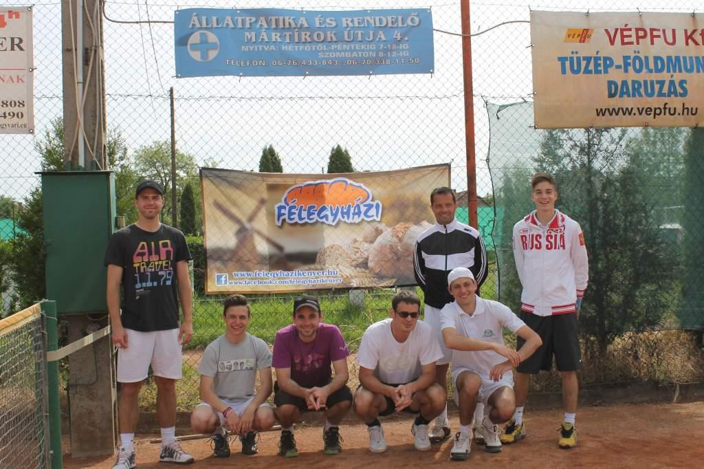 Bajnok lett a Kiskunfélegyházi Városi Tenisz Klub