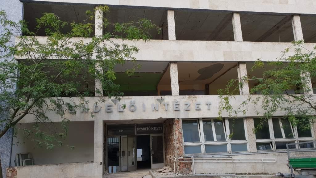 Épül az új egészségügyi központ