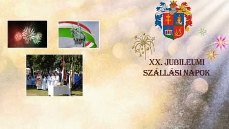 XX. Szállási Napok