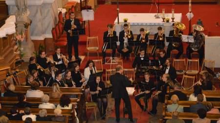 Fúvószenekari koncert a Szent István Templomban