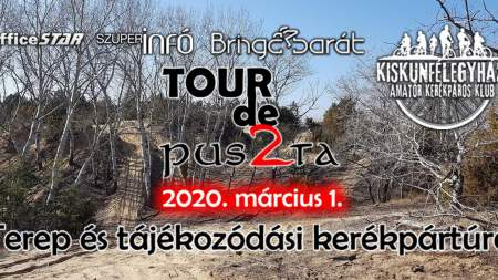 Tour de Puszta 2020 terep és tájékozódási kerékpártúra