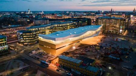 Ezért a szuperkönyvtárért irigyelhetjük a finneket