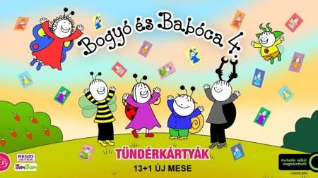 Tündérkártyák Bogyótól és Babócától - videóval