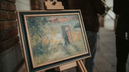 Pénteken délelőtt megkezdődtek a Magyar Festészet Napi programok