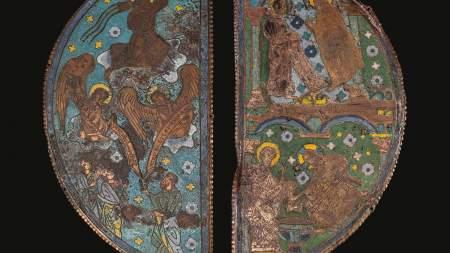Nagycsütörtök: A lábmosás jelenete a Bugac Pétermonostorán talált Szent Péter ereklyetartón