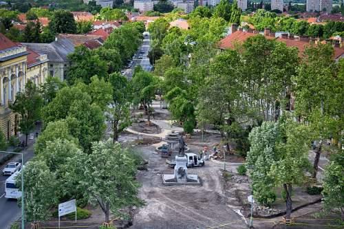Lakossági fórum a Zöldváros projekt kivitelezéséről
