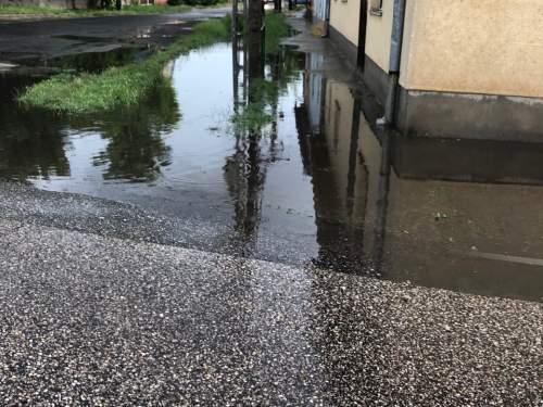 A nagy esőzések Félegyházán is gondot okoznak