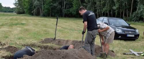 Huszárok sírjait tárták fel Tiszaalpár határában