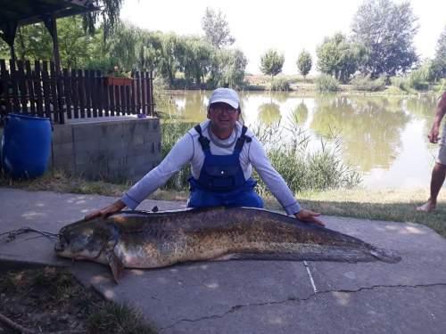 Több mint kétméteresre nőtt halat fogott ki
