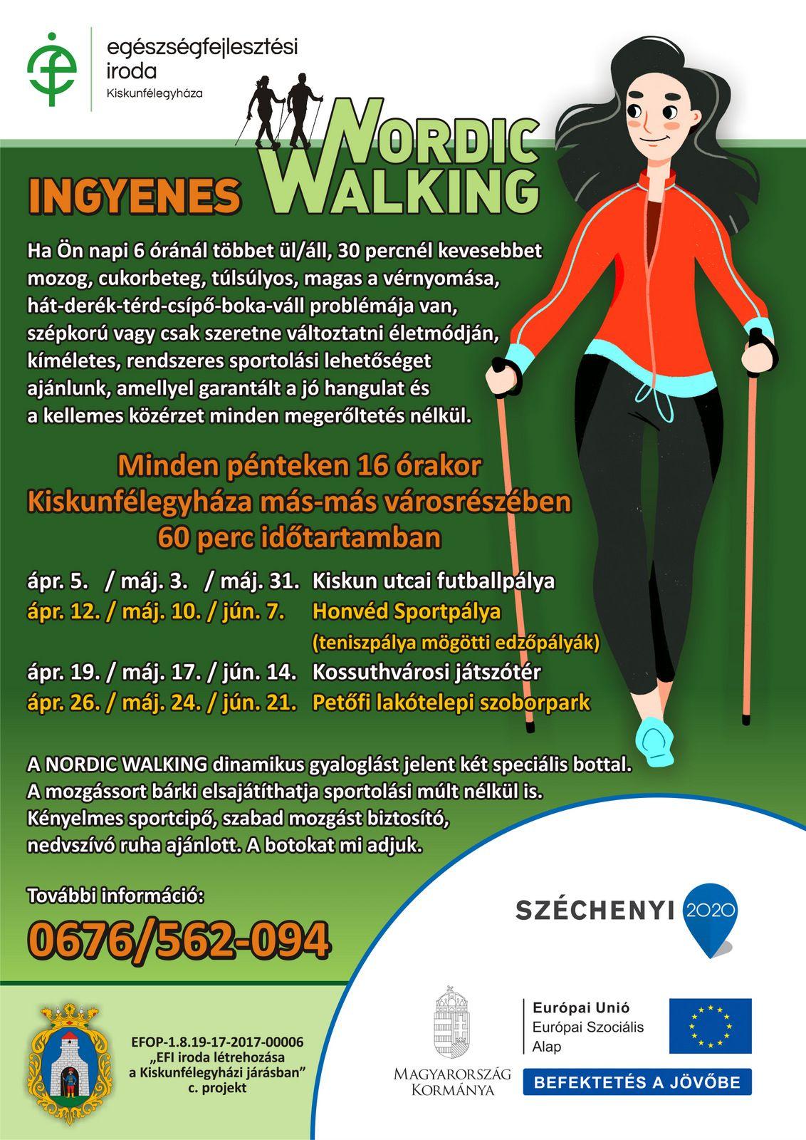 Nordic walking és magas vérnyomás)